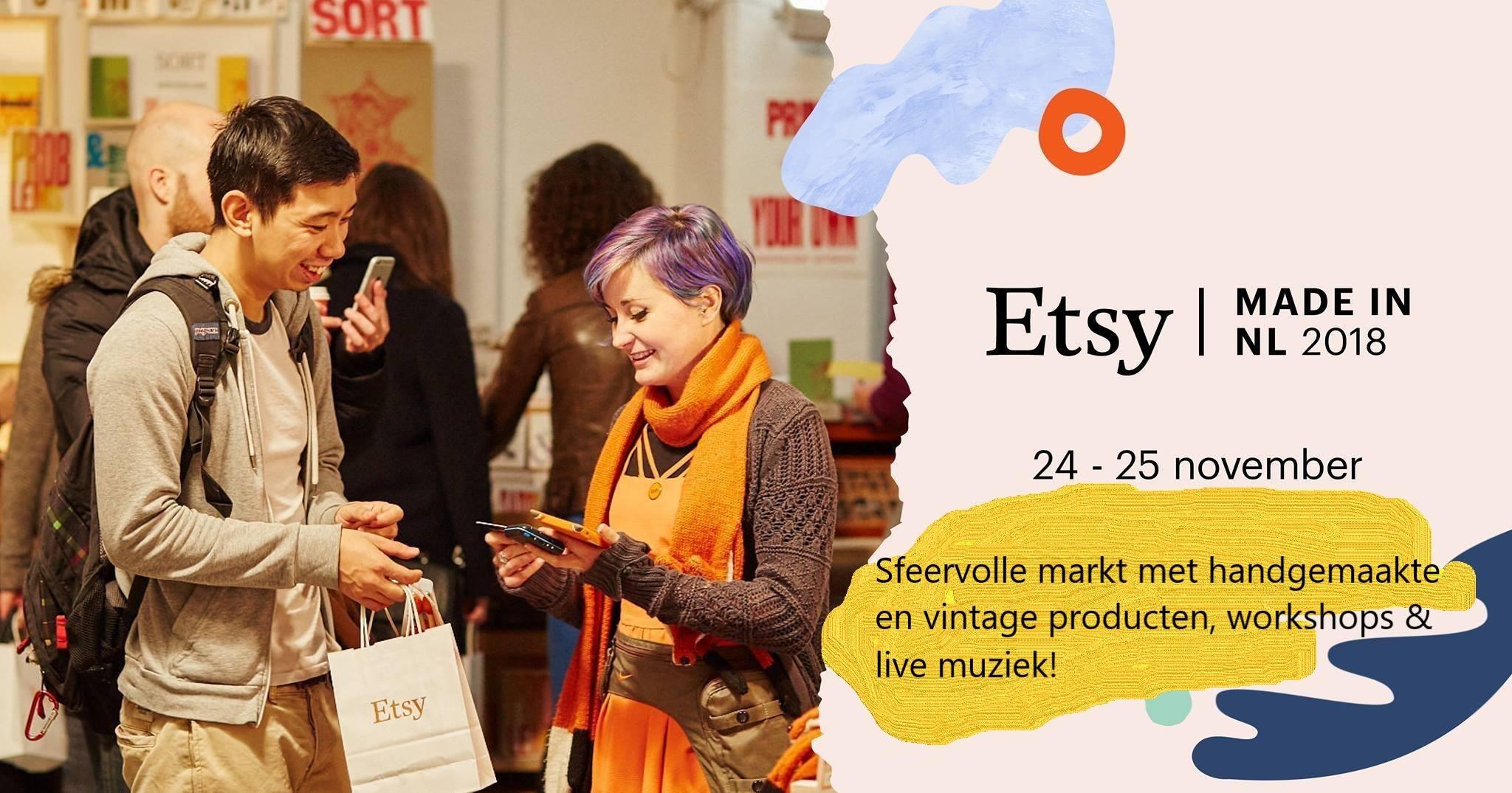 Kennismakingsworkshop Handletteren bij Etsy Made NL in Utrecht