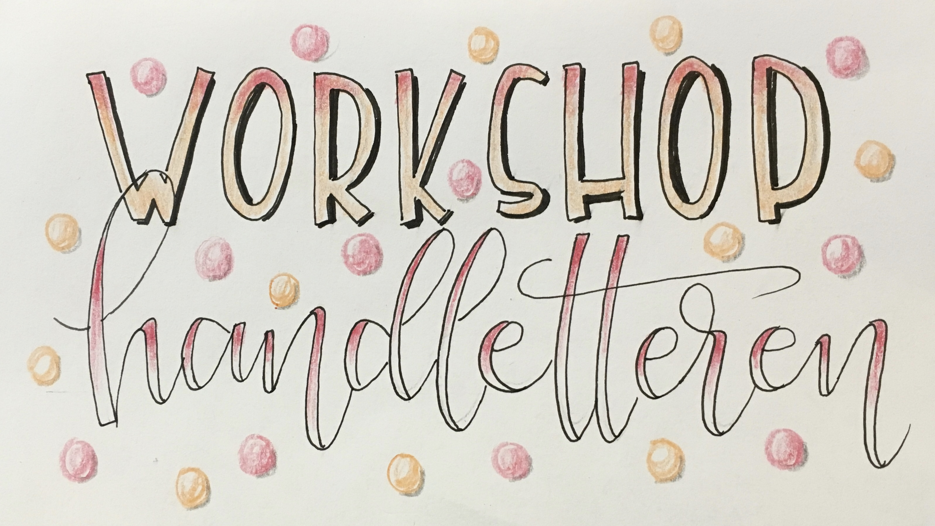 Basis workshop handlettering