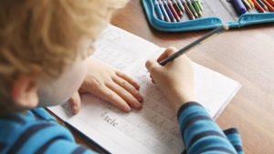 Kind schrijven